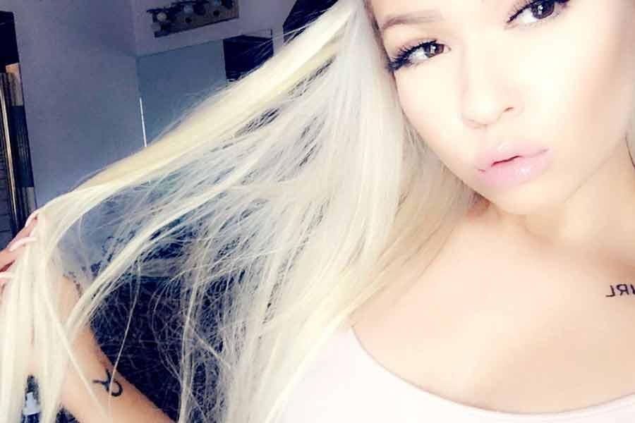 Petite barbie doll blond